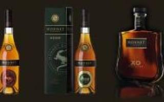 Коньяк Monnet (Моннет): состав напитка, его виды и история бренда