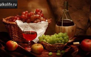 Приготовление наливки из винограда в домашних условиях