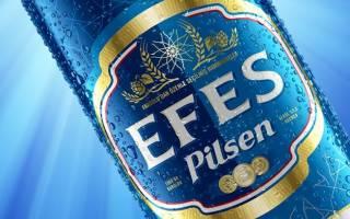 Пиво Efes (Эфес): обзор напитка, его разновидности и прозводитель