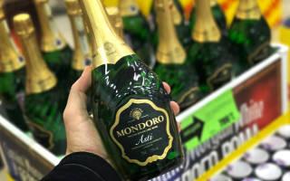 Игристое вино Mondoro (Мондоро): виды напитка, его особенности и сроки хранения